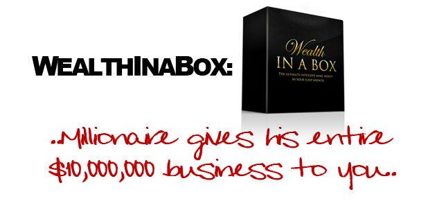 introducing wealth in a box